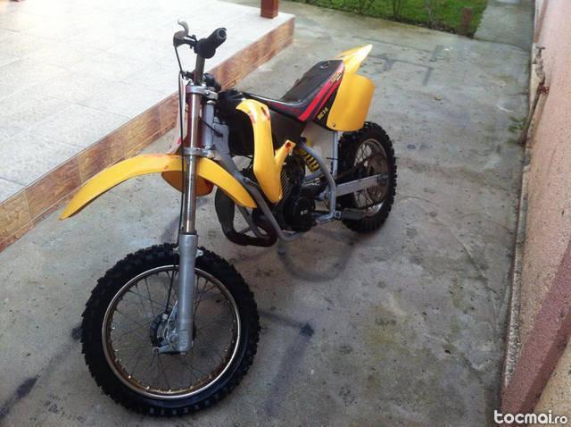 Morini moto cross, 2008