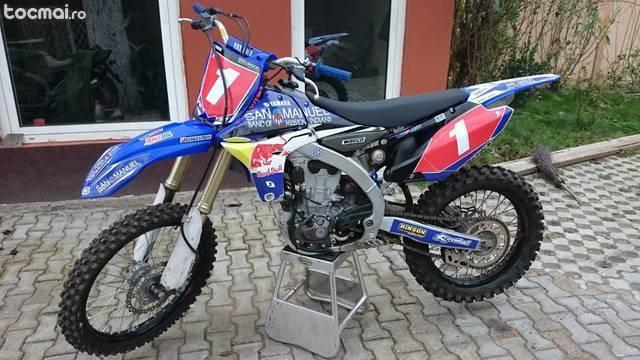 Yamaha YZF450 din 2013(James Stewart Replica)