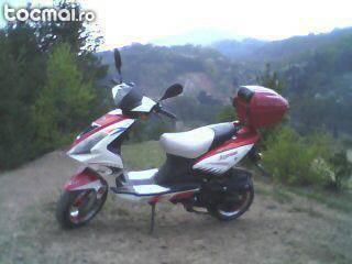 Scuter first bike, 2009